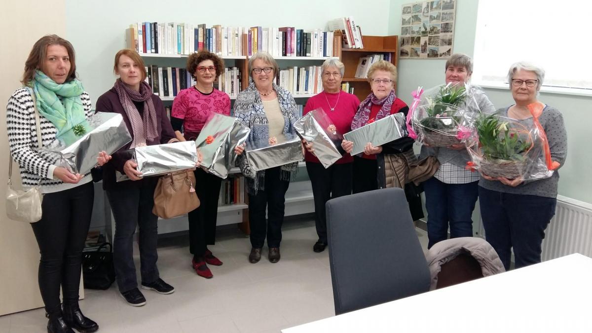 Récompense 2016-2017 au comité de bénévoles du fleurissement